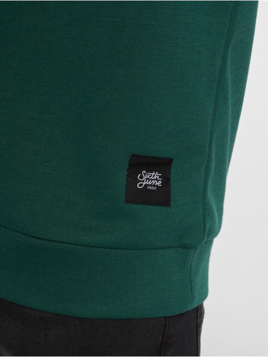 Sixth June Пуловер Tricolor зеленый