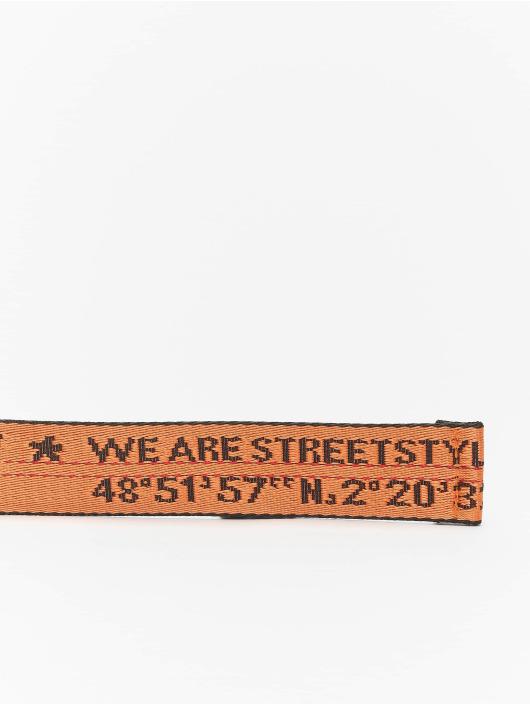 Sixth June Ремень Streetstyle оранжевый