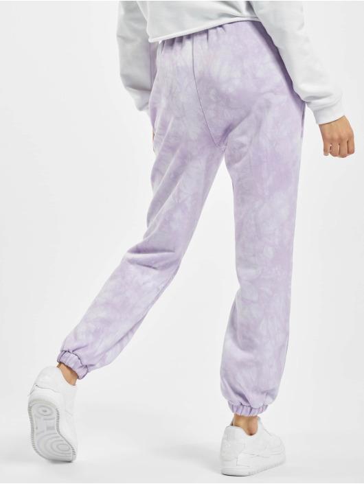 Sixth June Спортивные брюки Tie Dye пурпурный