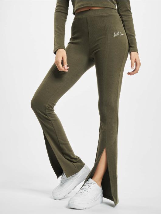 Sixth June Спортивные брюки Ribbed V2 хаки