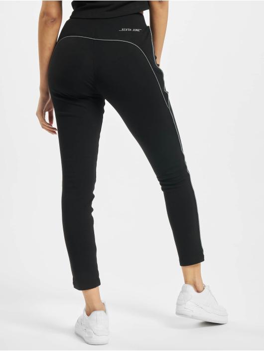 Sixth June Спортивные брюки Reflective Bidding Fit черный