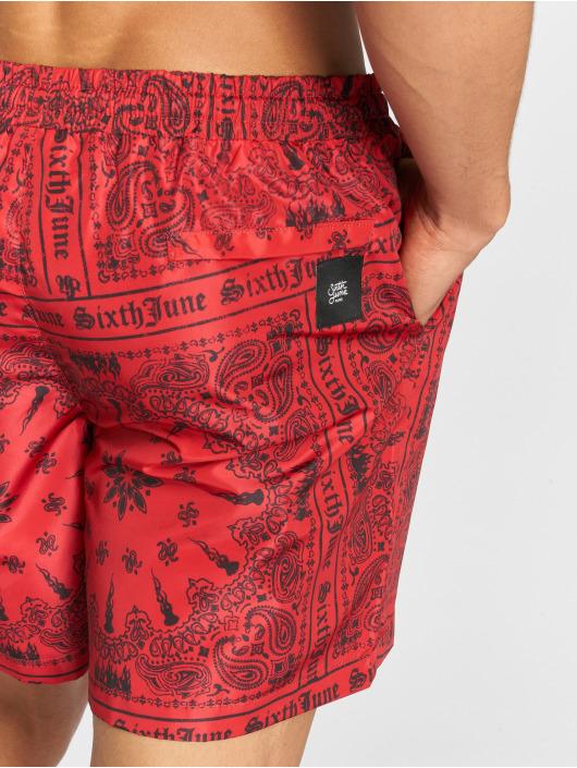 Sixth June Badeshorts Bandana red