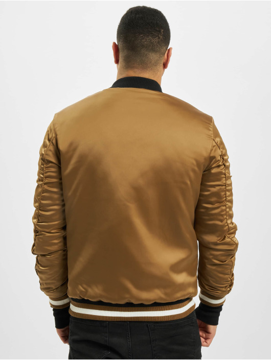 Sixth June Bomber jacket Satin beige