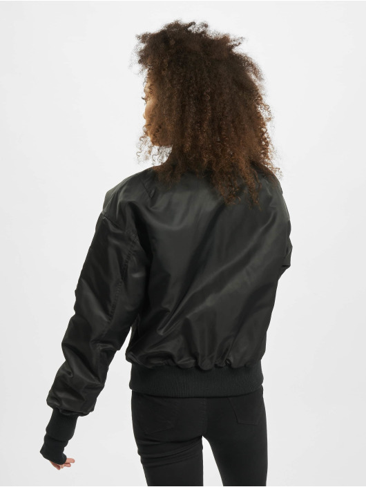 Sixth June Bomber jacket Oversized Contrast black