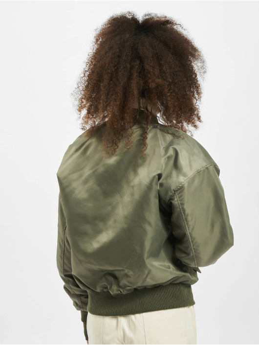 Sixth June Bomberjacke Oversized khaki