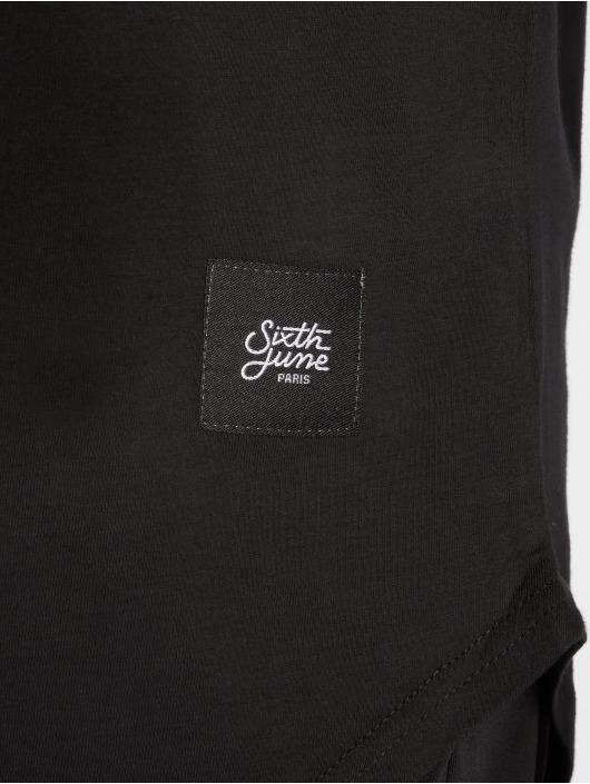 Sixth June Camiseta Stripe negro