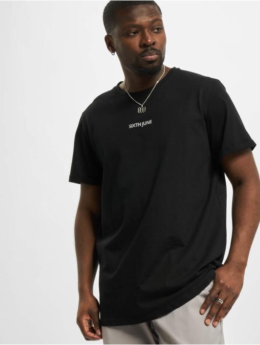 Sixth June Camiseta Reflective negro