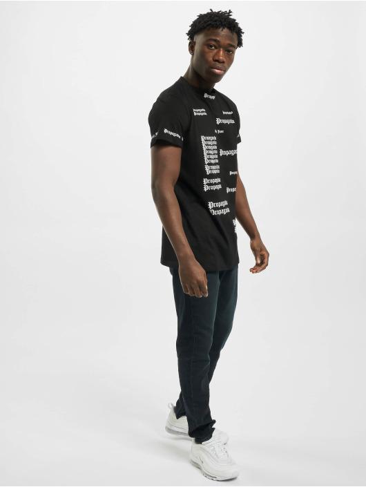 Sixth June Camiseta Repeat Propaganda negro