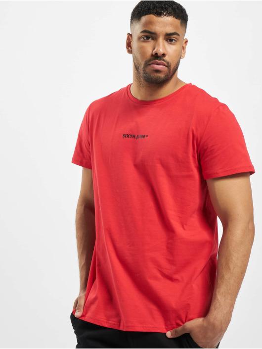 Sixth June Camiseta Back Faded Bandana rojo