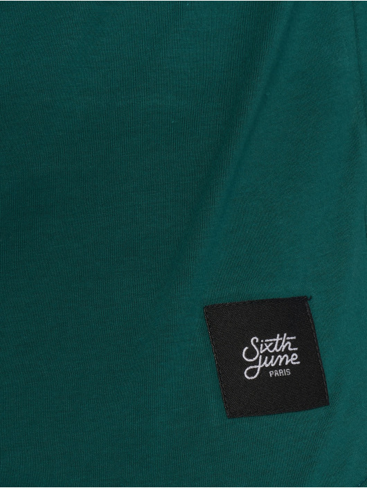 Sixth June Camiseta Tricolor verde