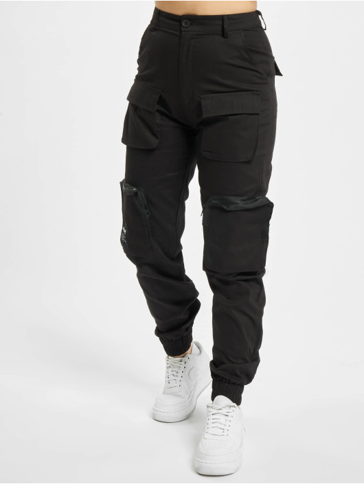 Sixth June Cargo Multiple Pocket Cargo black