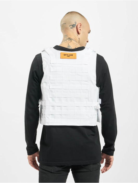Sixth June Chaleco Tactical Bullet Proof blanco