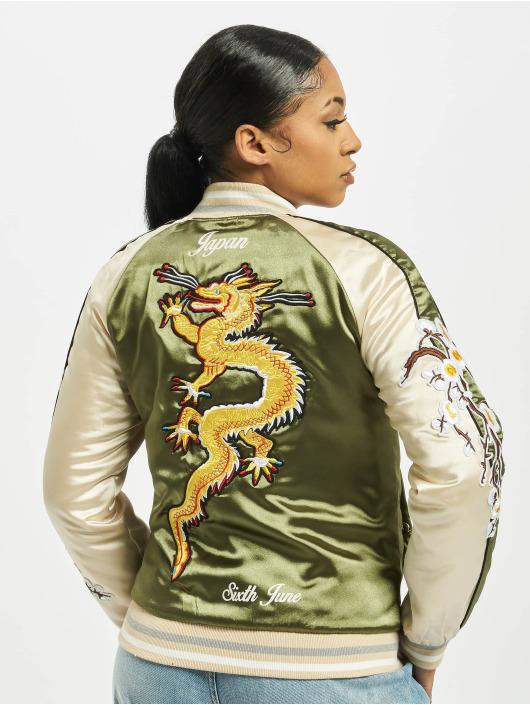 Sixth June College Jackets Souvenir khaki