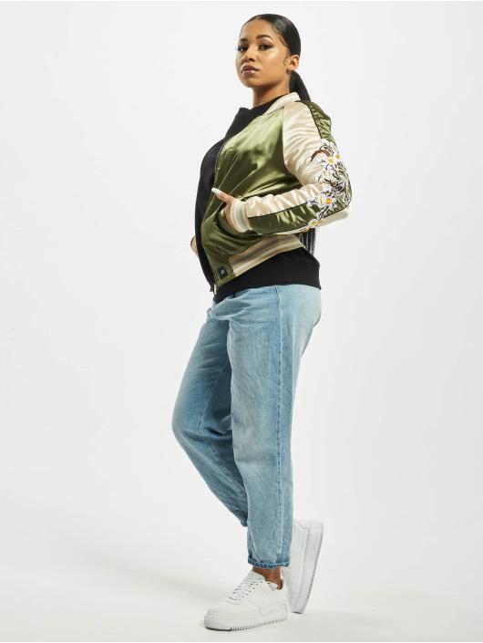 Sixth June Collegejakker Souvenir khaki
