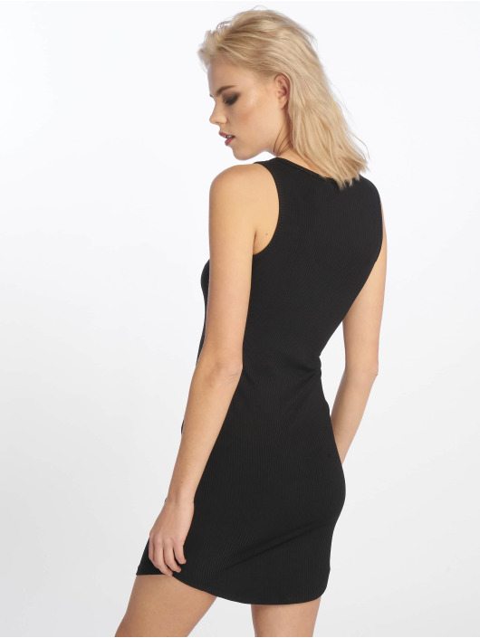 Sixth June Dress Rib black