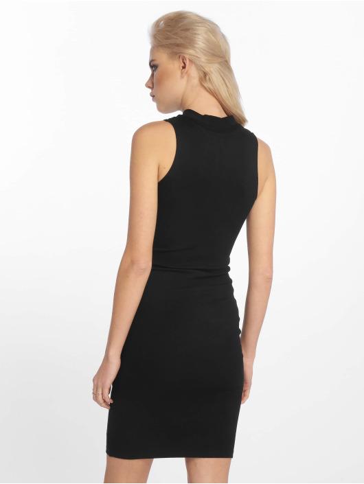 Sixth June Dress Zip Ripped black