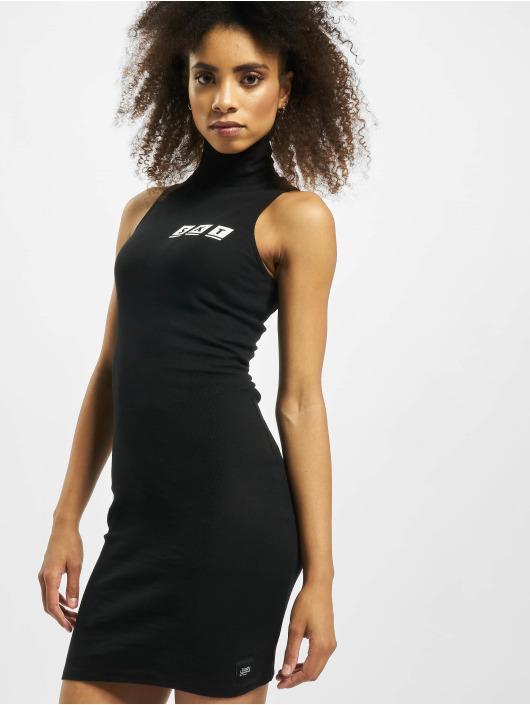 Sixth June Dress Ribbed black