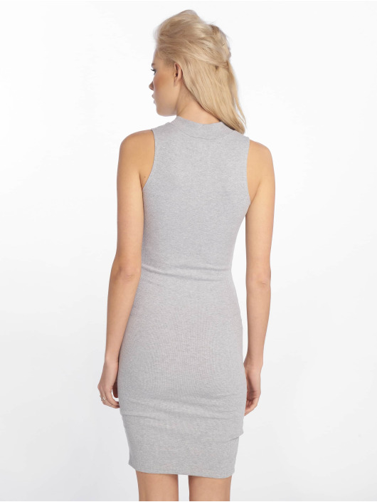 Sixth June Dress Zip Ripped gray