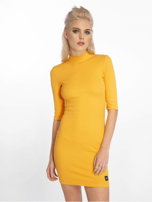 Sixth June Dress Zip Open yellow