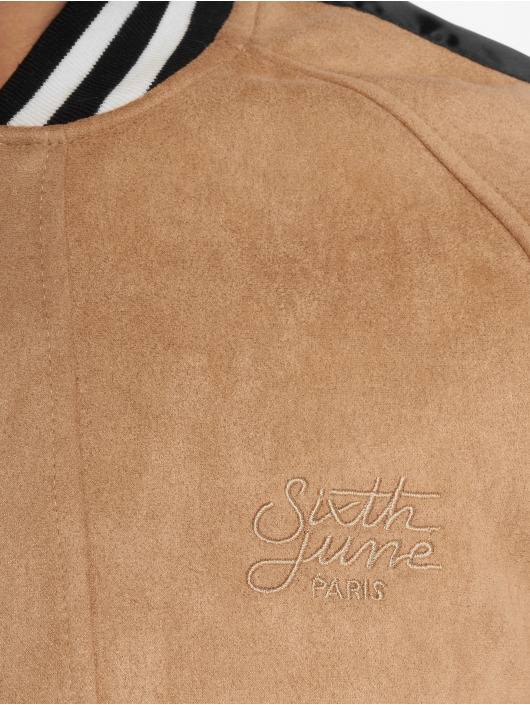 Sixth June Giubbotto Bomber College beige