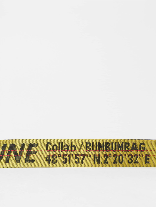 Sixth June Gürtel BumBumBag gelb