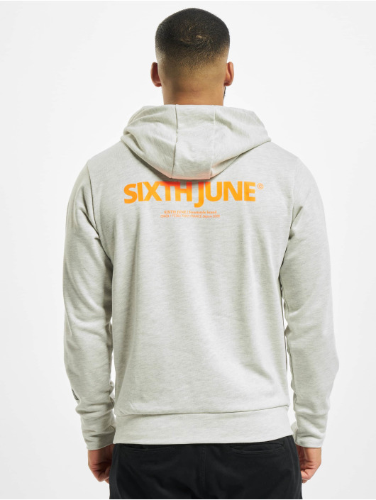 Sixth June Hoodie Essential Logo gray