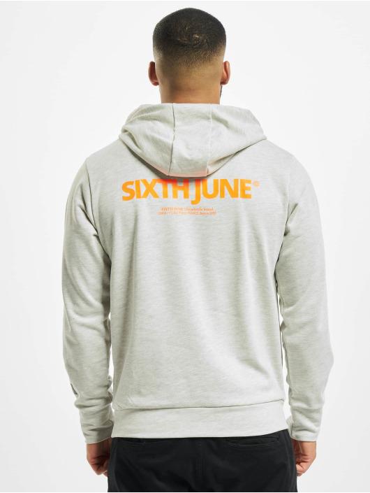 Sixth June Hoodie Essential Logo grey