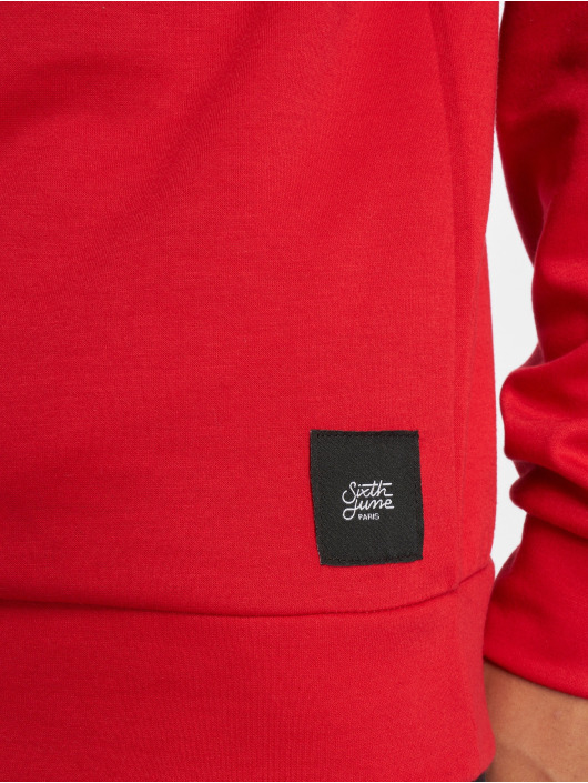 Sixth June Hoody Logo rood