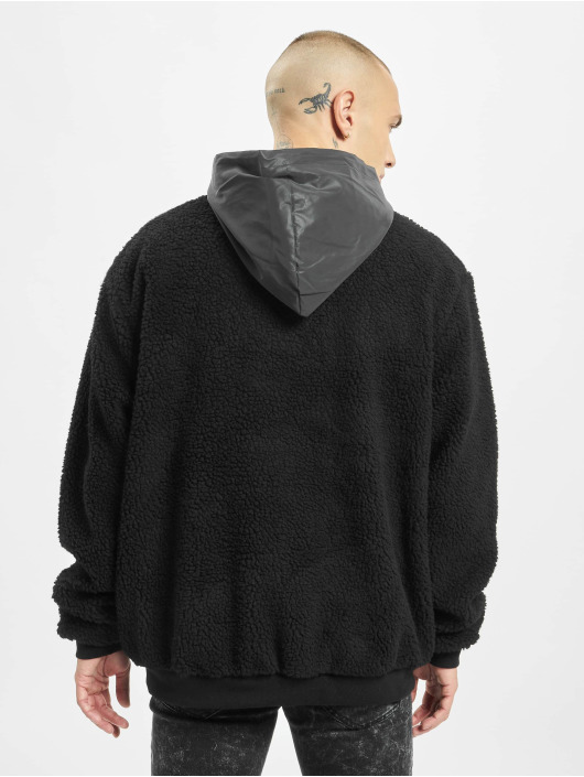 Sixth June Hoody Reflective Borg schwarz