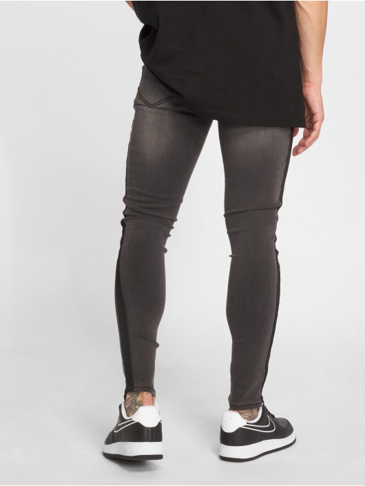 Sixth June Jean skinny Tape gris