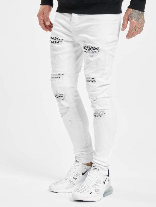Sixth June Jeans slim fit Skinny bianco