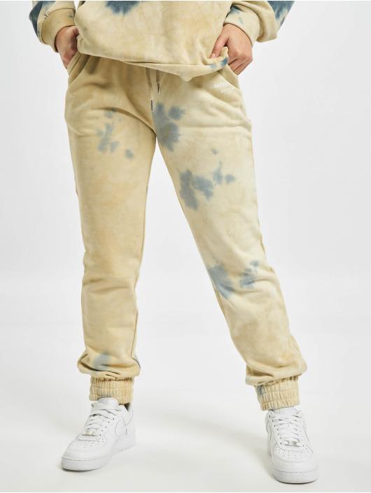 Sixth June Jogging kalhoty Tie Dye béžový