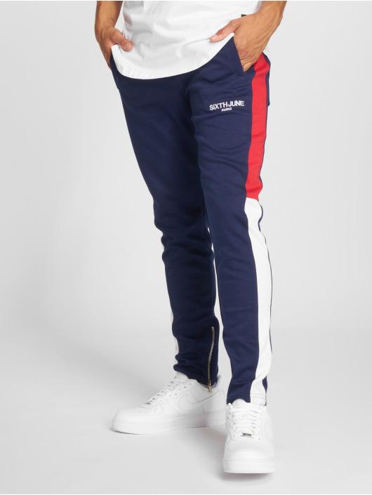 Sixth June Jogging kalhoty Stripes modrý