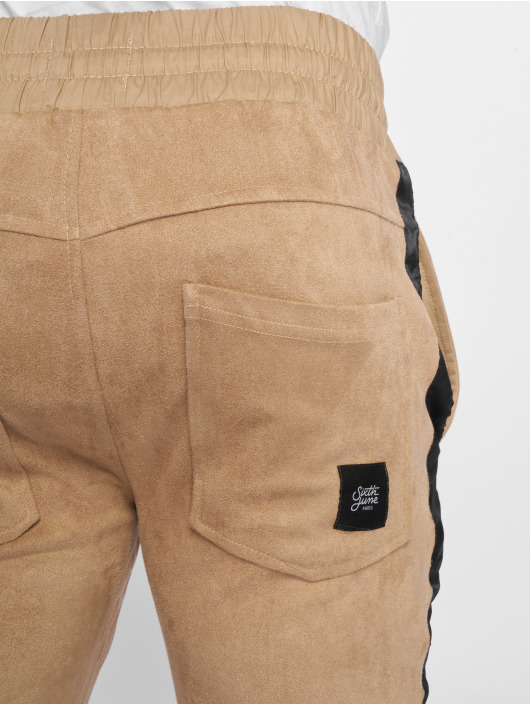 Sixth June joggingbroek Sweat beige