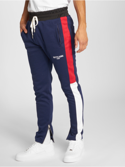 Sixth June joggingbroek Stripes blauw