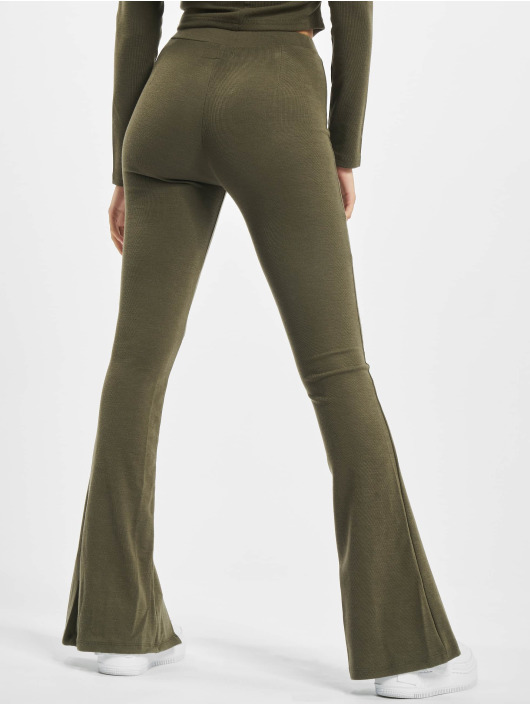 Sixth June joggingbroek Ribbed V2 khaki