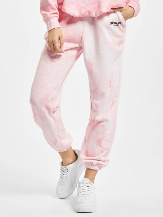 Sixth June joggingbroek Tie Dye Jogging pink