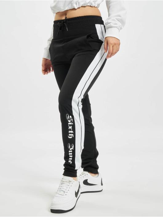 Sixth June joggingbroek Nylon Joggers zwart