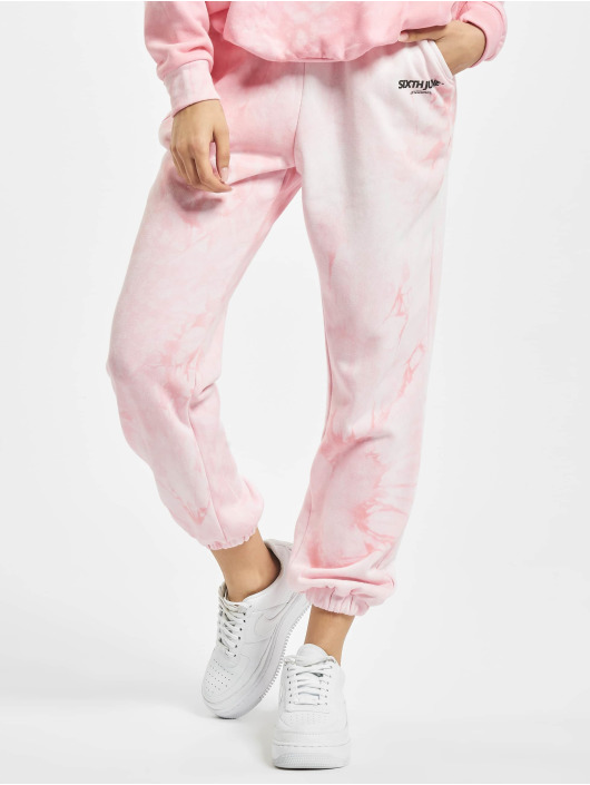 Sixth June Joggingbukser Tie Dye Jogging pink