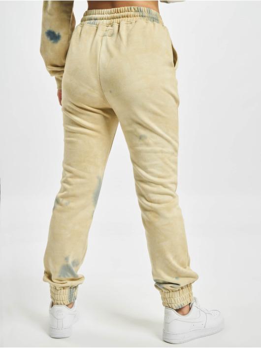 Sixth June Jogginghose Tie Dye beige