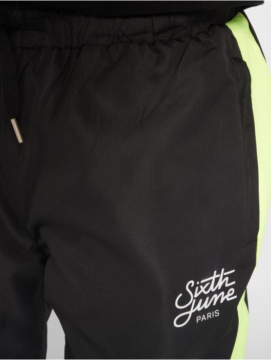 Sixth June Jogginghose Stripe schwarz