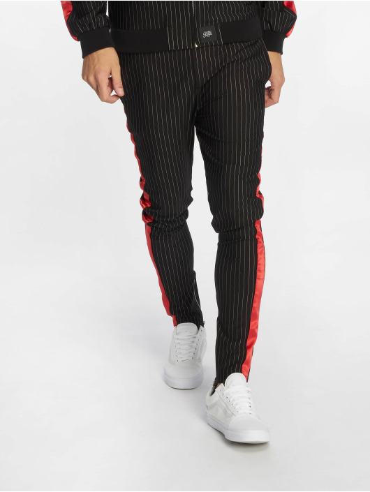 Sixth June Jogginghose Stripes Baseball schwarz
