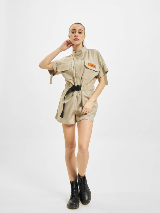 Sixth June Jumpsuit Utility Overall khaki