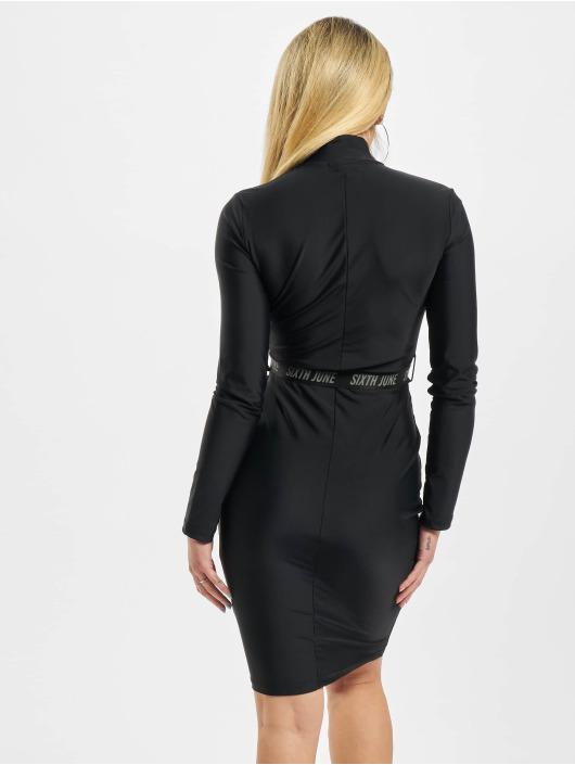 Sixth June jurk Waist Buckle zwart