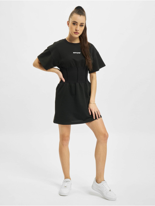 Sixth June jurk Essential Corset zwart