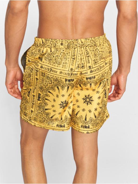 Sixth June Kúpacie šortky Bandana žltá
