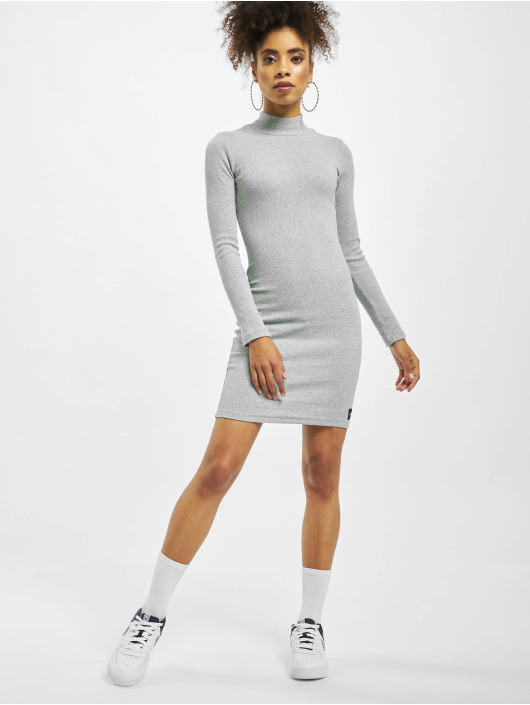 Sixth June Kleid Knitted grau