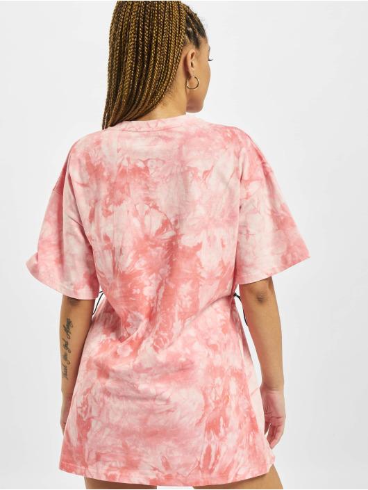 Sixth June Kleid Tie Dye pink