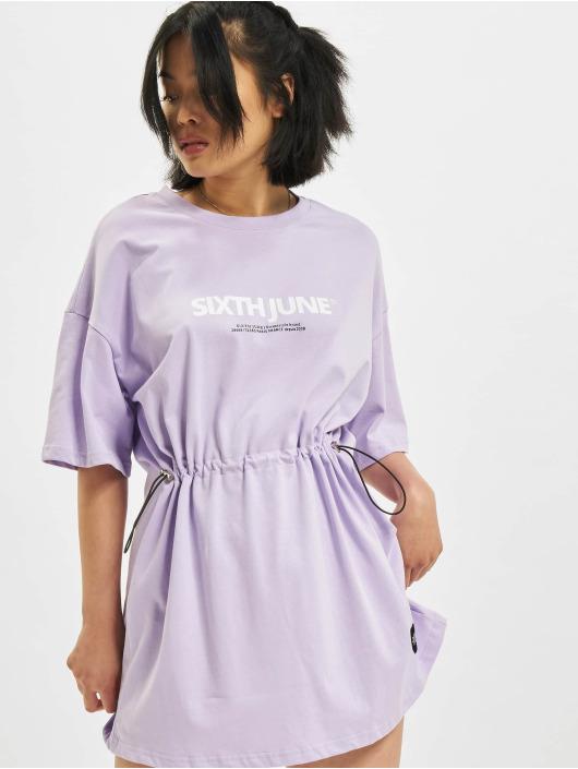Sixth June Kleid Elastic violet