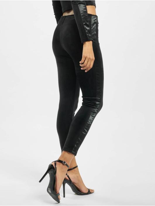 Sixth June Legging Glitter schwarz